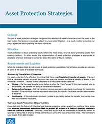 NYL Asset Protection Strategies